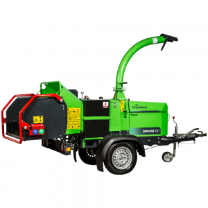 Arborist 150p Woodchipper cut out on a white background
