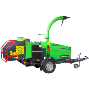 GreenMech Arborist 200P cut out image machine on white background