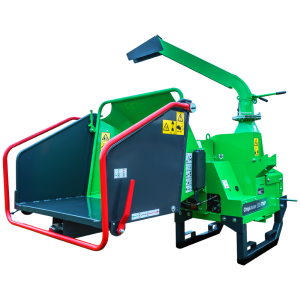 GreenMech ChipMaster 220 TMP woodchipper cut out on white background
