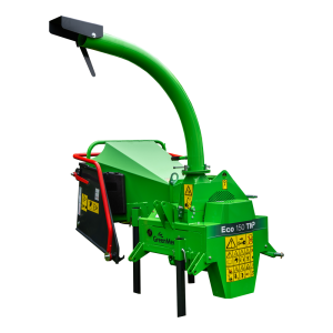 GreenMech EO 150 TMP woodchipper cut out on white background
